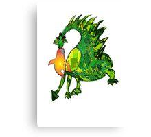 fire dragon Canvas Print
