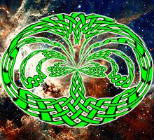 Tarantula -  Celtic Tree of Life No16 by Dennis Melling
