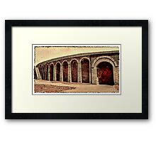 The Arena Framed Print