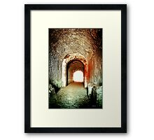 Death Path Framed Print
