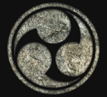Shinto Trinity Japan, Symbol Mitsu Tomoe, Triskelion by nitty-gritty