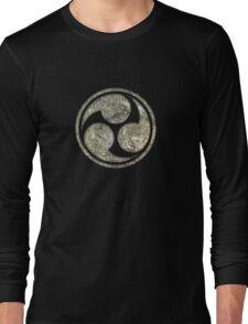 Shinto Trinity Japan, Symbol Mitsu Tomoe, Triskelion Long Sleeve T-Shirt