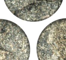 Shinto Trinity Japan, Symbol Mitsu Tomoe, Triskelion Sticker