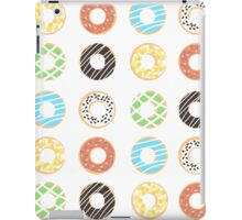 Donut Print iPad Case/Skin