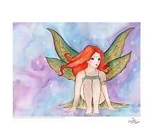 The Fairy - from Bob is a Unicorn Photographic Print