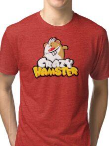 Crazy Hamster Tri-blend T-Shirt