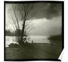 Early morning at Lake Wallace Poster