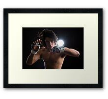 Malaysian boxer Framed Print