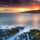 Fishmans Bay - motionless sunset by Michael Howard