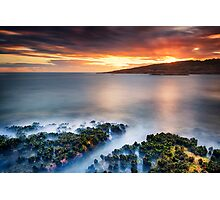 Fishmans Bay - motionless sunset Photographic Print