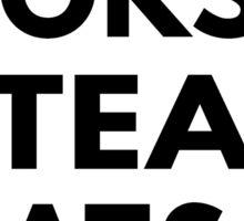 I Love Books, Tea & Cats Sticker