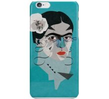 Frida Blue iPhone Case/Skin