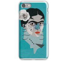 Frida Blue iPhone Case/Skin