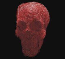 human skull by humbak