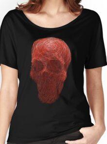 human skull Women's Relaxed Fit T-Shirt