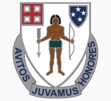 182nd Infantry Regiment - Avitos Juvamus Honores - We Uphold Our Ancient Honors by VeteranGraphics