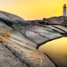 Sunset at Peggy's Cove by Bruce Taylor