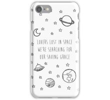 Lovers lost in space iPhone Case/Skin