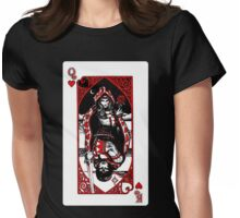 Queen of Hearts Womens Fitted T-Shirt