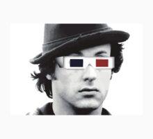 Sylvester Stallone - 3D Glasses T-Shirt