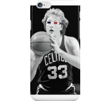 Larry Bird - 3D Glasses iPhone Case/Skin