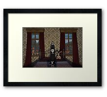 A Night In Framed Print