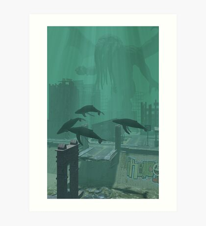 What The Whales Saw Art Print