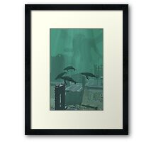 What The Whales Saw Framed Print