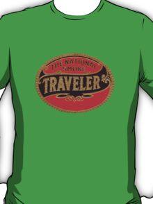 Vintage Cigar Traveler Decal Travel Smoke T-Shirt
