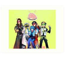(CLEAN Version) DRAMAtical Murder - Five Guys Art Print