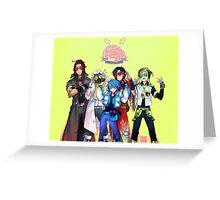 (CLEAN Version) DRAMAtical Murder - Five Guys Greeting Card