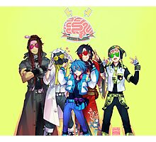 (CLEAN Version) DRAMAtical Murder - Five Guys Photographic Print