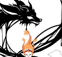 Fox Summoner Sticker
