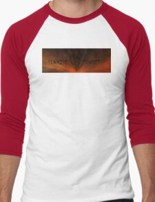 SUNRISE SUNSET Men's Baseball ¾ T-Shirt