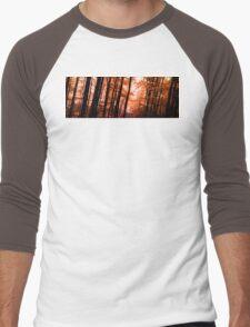 Wooden Embers Men's Baseball ¾ T-Shirt