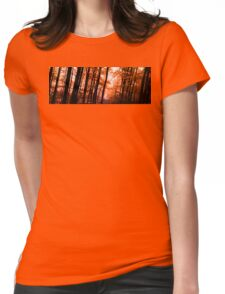 Wooden Embers Womens Fitted T-Shirt