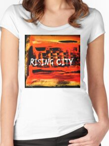 Rising City Women's Fitted Scoop T-Shirt