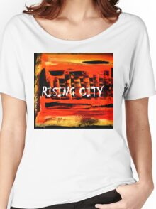 Rising City Women's Relaxed Fit T-Shirt