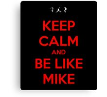 Like Mike Canvas Print
