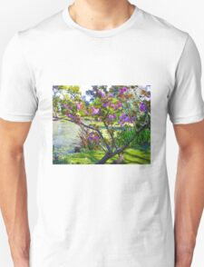 Pink blossoms at Ripponlea Unisex T-Shirt