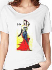 Diva Women's Relaxed Fit T-Shirt
