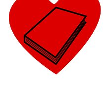 Book Heart by kwg2200
