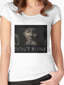Don't Blink Women's Fitted Scoop T-Shirt