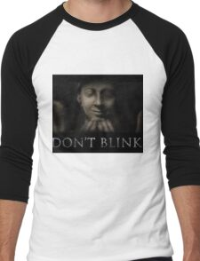 Don't Blink Men's Baseball ¾ T-Shirt