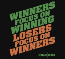 Conor McGregor - Quotes [Winners Tri] by TypeTees
