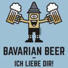 Bavarian Beer – Ich Liebe Dir! by MrFaulbaum