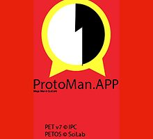Protoman.EXE iDevice Case by Bryan Buckingham-Jacobs
