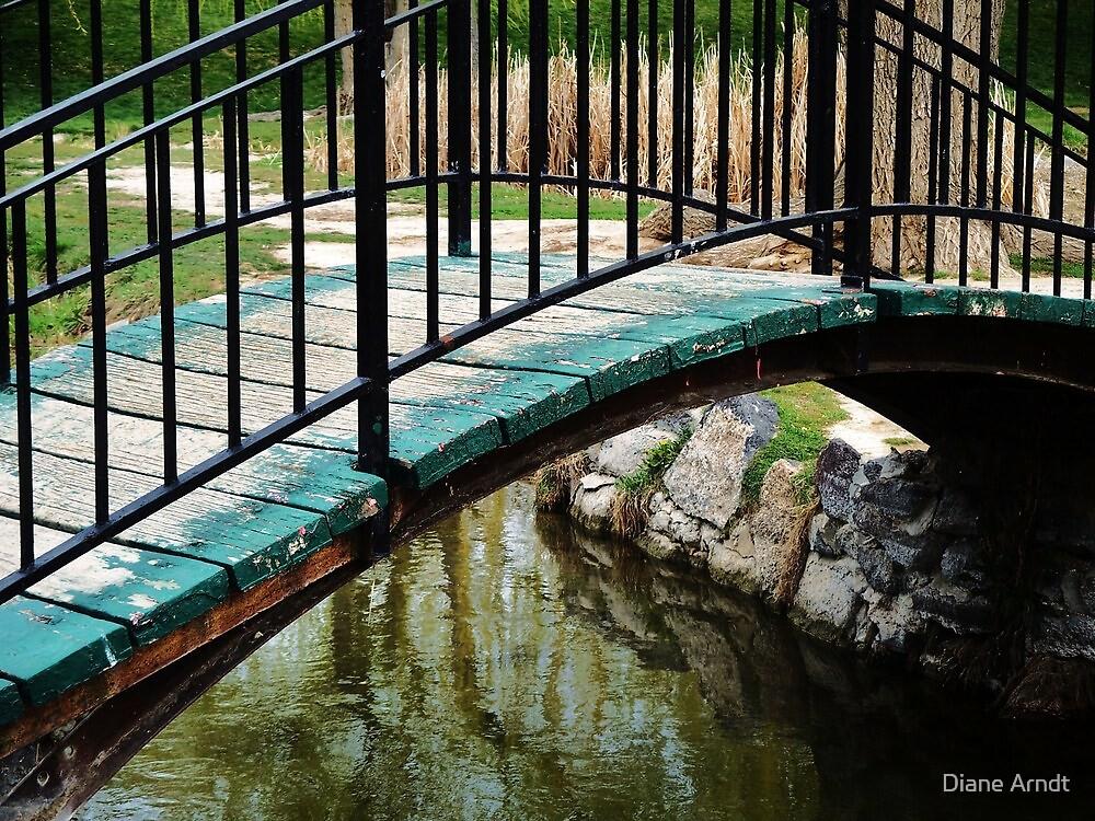 Foot Bridge..Nampa, Idaho by Diane Arndt