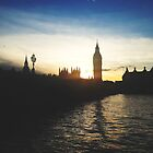 westminster sunset by cocosuspenders