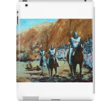 EN ROUTE TO BATTLE iPad Case/Skin